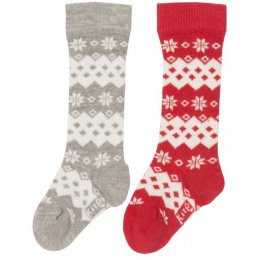 Kite Snowflake Socks - Pack of 2