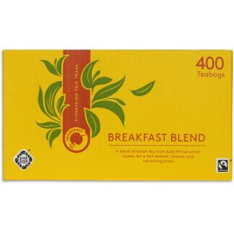 Traidcraft Fair Trade Breakfast Blend Tea Catering Pack - 400 Bags