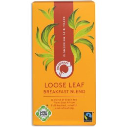 Traidcraft Fair Trade Breakfast Blend Loose Leaf Tea - 125g