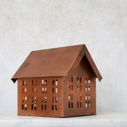 Imari Tealight House - Copper