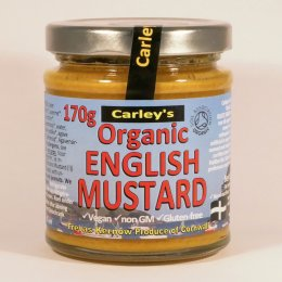 Carleys Organic English Mustard - 170g