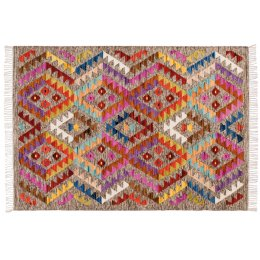 Aztec Multi Diamond Rug - 140 x 200cm