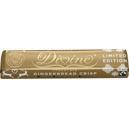 Divine Limited Edition Gingerbread Crisp Chocolate Bar - 35g