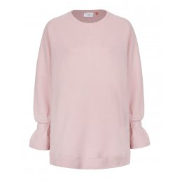 Asquith Organic Cotton Sublime Sweatshirt - Pearl Pink