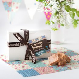 Cotswold Fudge Traditional Butter Fudge Gift Box - 250g