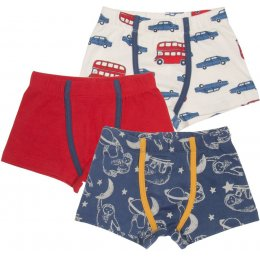 Kite Beep Beep Boxers - Pack of 3