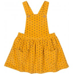 Kite Polka Heart Pinafore