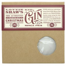 Lottie Shaws Gin Iced Mince Pies - 320g