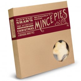 Lottie Shaws Seriously Good Mince Pies - 245g