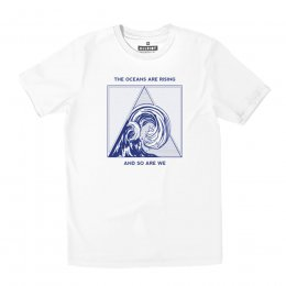 All Riot The Oceans are Rising Organic T-Shirt - White