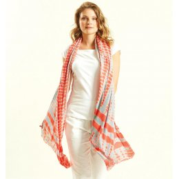 Nomads Coral Tie Dye Sarong