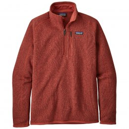 Patagonia Mens Better Sweater 1/4 Zip Jacket - New Adobe