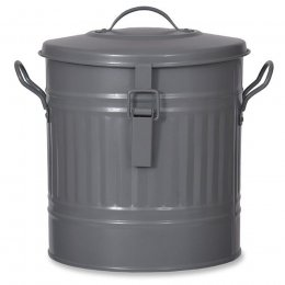 Outdoor Compost Bucket -13.5L - Charcoal