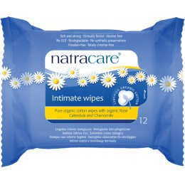 Natracare Organic Cotton Intimate Wipes test