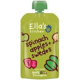 Ellas Kitchen Spinach, Apples & Swede