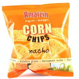 Amaizin Bio Corn Chips (Nacho Flavour) test