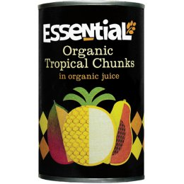 Essential Trading Organic Tropical Fruits In Juice - 400g