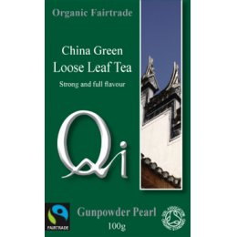 QI Gunpowder Pearl Loose Tea
