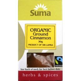 Suma Organic & Fairtrade Ground Cinnamon 25g