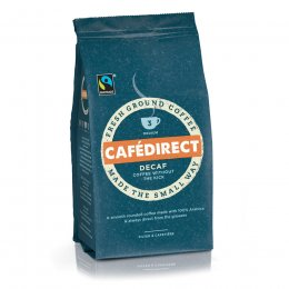 Cafedirect Decaffeinated Fresh Ground Coffee - 227g