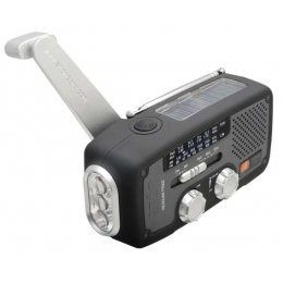 Eton FR160 Wind-up, Solar Powered, Radio, Torch & Mobile Phone Charger test