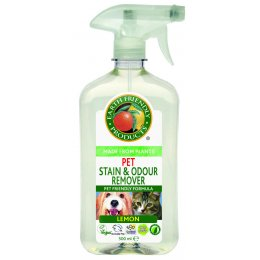 Earth Friendly Pet Stain & Odour Remover - 500ml test