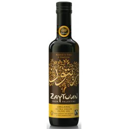 Zaytoun Fairtrade Extra Virgin Olive Oil 750ml