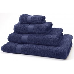 Natural Collection Organic Cotton Bath Towel - Navy