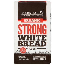 Marriages Organic Strong White Flour - 1kg