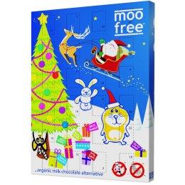 Moo Free Dairy Free Milk Chocolate Advent Calendar - 120g test