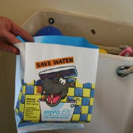 Hippo the Toilet Water Saver