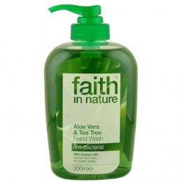 Faith In Nature Aloe Vera & Tea Tree Hand Wash - 300ml test