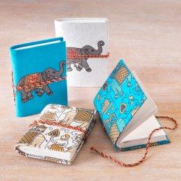 Elephant Notebook - Set of 2 - Teal test