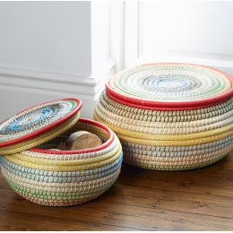 Colourful Stacking Basket - Set of 2