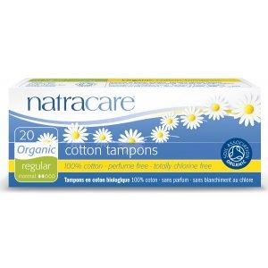 Natracare Organic Cotton Tampons - Regular - 20