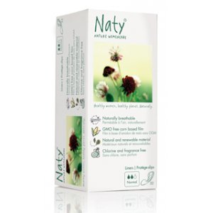 Naty by Nature Womencare Panty Liners - Large - Pack of 28