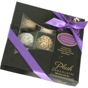 Plush Luxury Handmade English Truffles - 100g