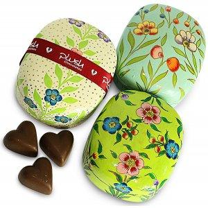 Plush Milk Chocolate Caramel Hearts - 50g