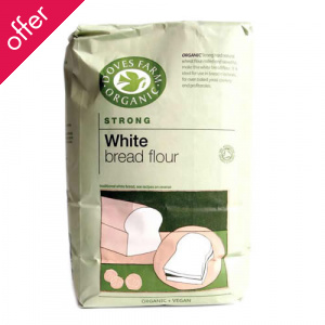 Doves Farm White Organic Strong Flour 1.5Kg