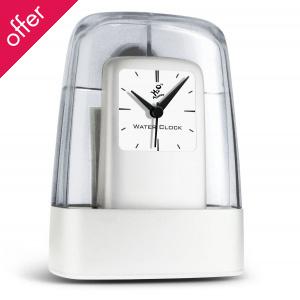 H2O Long Life Analogue Retro Clock