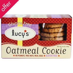 Lucy's Gluten Free Oatmeal Cookies - 156g