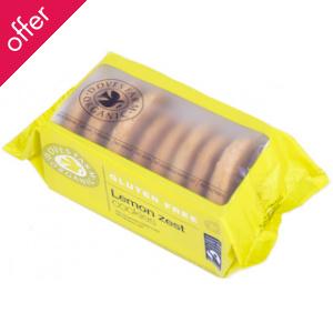 Doves Farm Organic Lemon Cookies 150g