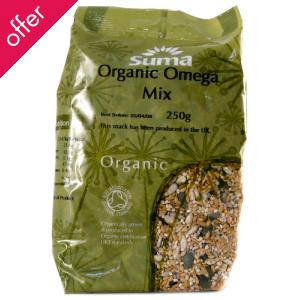 Suma Prepacks Organic Omega Seed Mix 250g