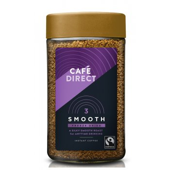Cafedirect Fairtrade Smooth Roast Instant Coffee - 100g