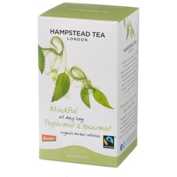 Hampstead Tea Peppermint Organic Fairtrade Infusion - 20 Sachets