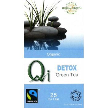 Qi Organic Fairtrade Detox Green Tea