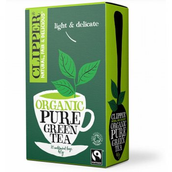 Clipper Organic Green Tea - 20 Bags
