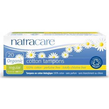 Natracare Organic Cotton Tampons - Regular - 20