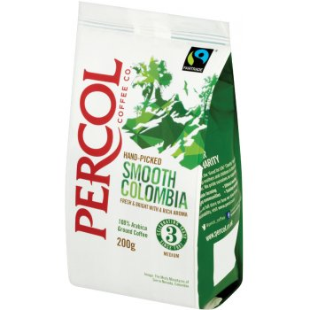 Percol Fairtrade Smooth Colombia Coffee  - 200g