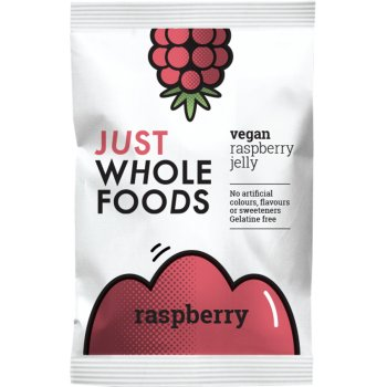 Just Wholefoods Jelly Crystals - Raspberry 85g